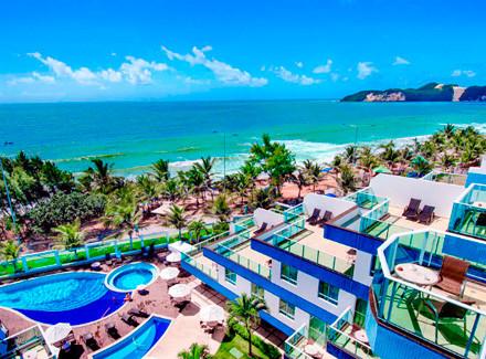 Natal, RN: Completo Hotel à beira da famosa Praia de Ponta Negra | Meia Pensão | Praia, Viajar com Crianças, Lua de Mel, Menores Preços, Férias Chegando