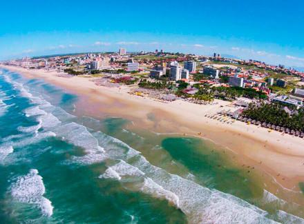 Fortaleza, CE: Hotel frente à Praia do Futuro, a melhor da cidade | Café da Manhã, Meia Pensão, Pensão Completa | Aéreo É Mais, Praia, Cidade, Novas Ofertas