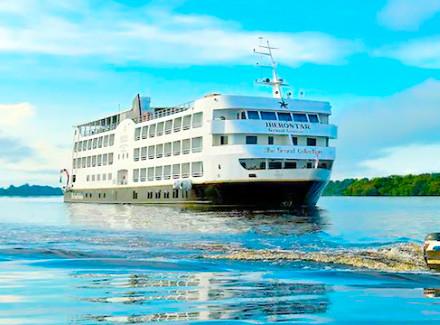 Manaus, AM: Luxuoso Cruzeiro All-Inclusive pelos rios Negro e Solimões | All-Inclusive | Aéreo É Mais, Ecoturismo, Créditos Fidelidade, Novas Ofertas, Férias Chegando
