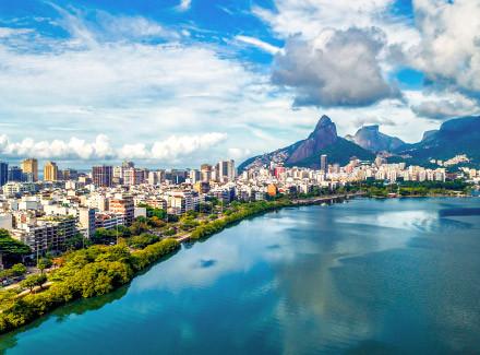 Rio de Janeiro, RJ: Hotel Palladium a 350 m da Praia do Leblon | Café da Manhã | 10x sem Juros, Animais Bem-Vindos