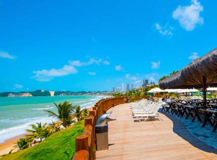 Natal, RN: Resort à beira da Praia de Ponta Negra e 2 opções de pensão | Café da Manhã, Meia Pensão | Praia, Resort, Cidade, Viajar com Crianças, 10x sem Juros, Novas Ofertas, RN com Aéreo