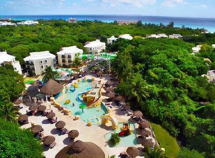 Eco Resort All-Inclusive 4* em Playa del Carmen, na Riviera Maya | All-Inclusive | Viajar a Dois, Viajar com Crianças, Termas e Spa, Lua de Mel, Praia, Resort, Diversão, 10x sem Juros, Internacional, Ecoturismo