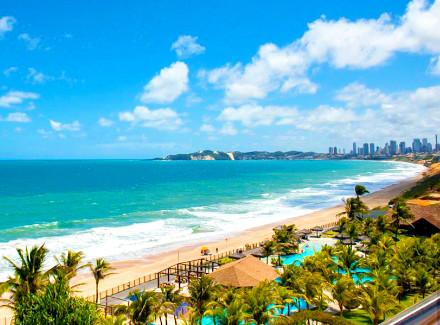Natal, RN: Resort 5* com acesso direto à praia e excelente gastronomia | Café da Manhã, Meia Pensão | Cidade, Praia, Resort, Lua de Mel, 10x sem Juros, Novas Ofertas, RN com Aéreo, Aéreo É Mais