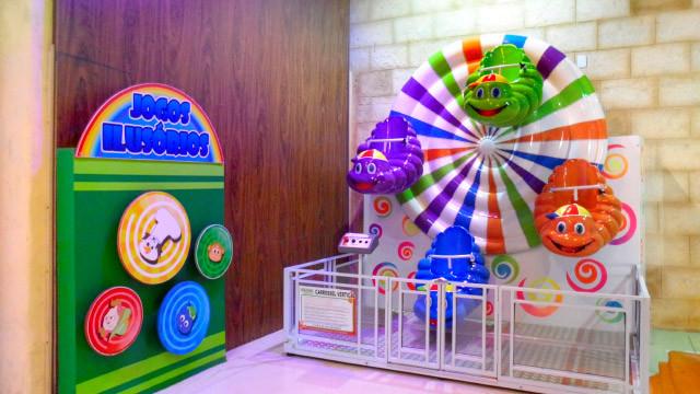 Mavsa Resort - Um mundo de entretenimento com monitoramento, jogos eletrônicos e brinquedos de parque de diversão.